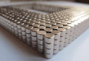 stříbrné neodymové magnety (nikl)