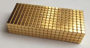 zlaté neodýmové magnety