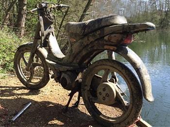 Motorka - úlovek magnet Fishing