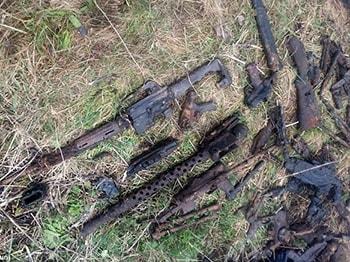 Lovec pokladů našel zbraně z 2. světové války