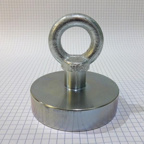 Magnet pro lovce pokladů - 282kg