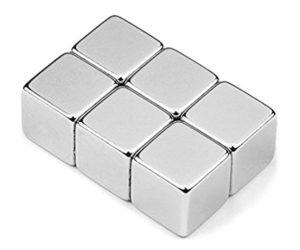 Neodymové magnety - kostky