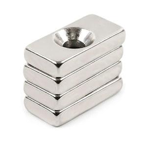 neodymové magnety s dírou