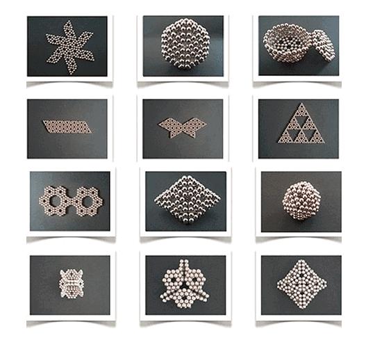 Magnetické kuličky NeoCube - různe tvary