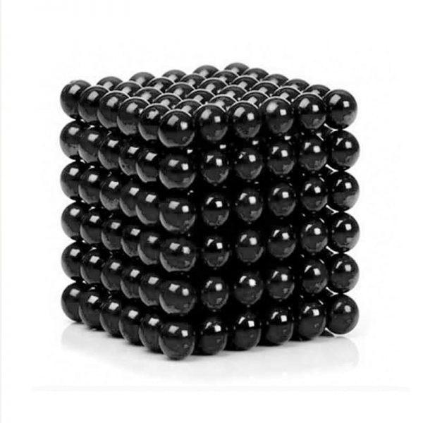 Magnetické kuličky Neocube černá (+6 náhradních kuliček)