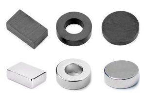 Srovnání: feritové a neodymové magnety
