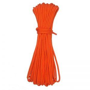 Lano pro magnet fishing průměr 7 mm (oranžové 30 metrů)