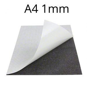 Samolepicí magnetická fólie 1 mm (A4)