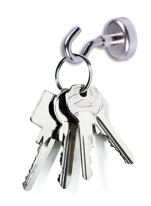 magnetický hák - klíče