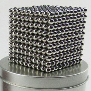 Magnetické kuličky Neocube nikl XXL balení (+6 náhradních kuliček)