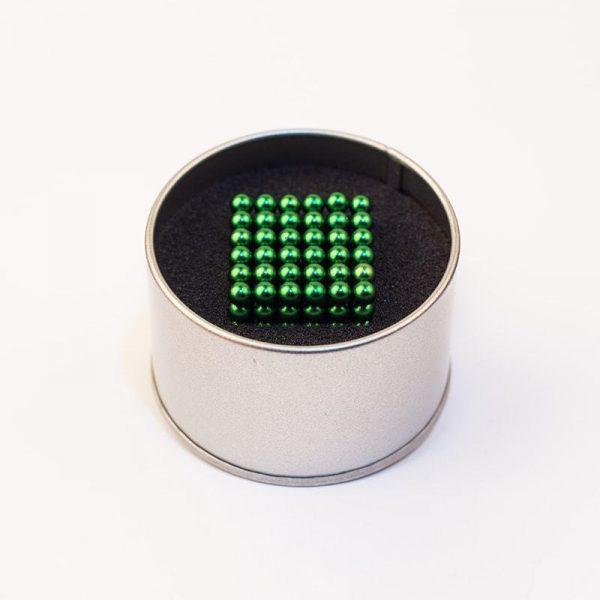 Magnetické kuličky Neocube zelená (+6 náhradních kuliček)