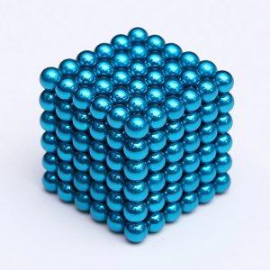 Magnetické kuličky Neocube tyrkysová (+6 náhradních kuliček)