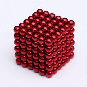 Magnetické kuličky Neocube červená (+6 náhradních kuliček)