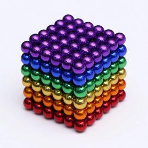 Magnetické kuličky Neocube 6 barev (+6 náhradních kuliček)