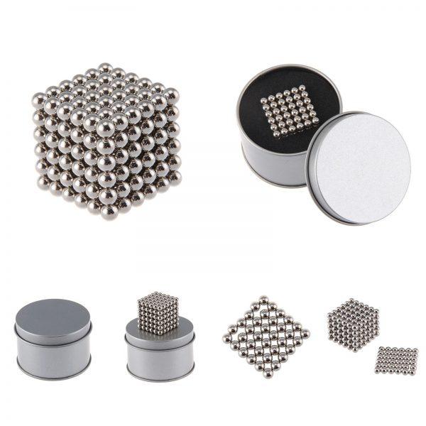 Magnetické kuličky Neocube nikl (+6 náhradních kuliček)