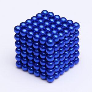 Magnetické kuličky Neocube modrá (+6 náhradních kuliček)