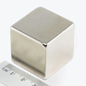 Neodymový magnet kostka 30x30x30 mm - N38