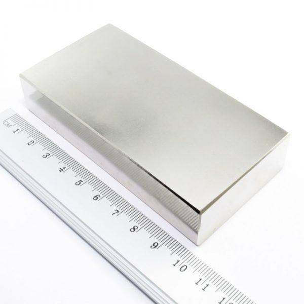 Neodymový magnet kvádr 100x50x20 mm - N38
