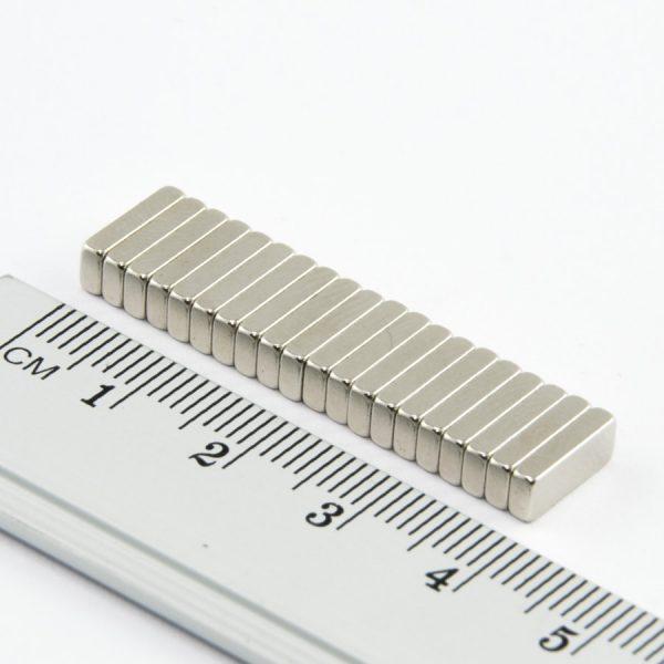 Neodymový magnet kvádr 10x4x2 mm - N52