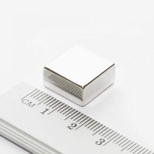 Neodymový magnet kvádr 15x15x8 mm - N38