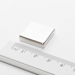 Neodymový magnet kvádr 20x20x5 mm - N38