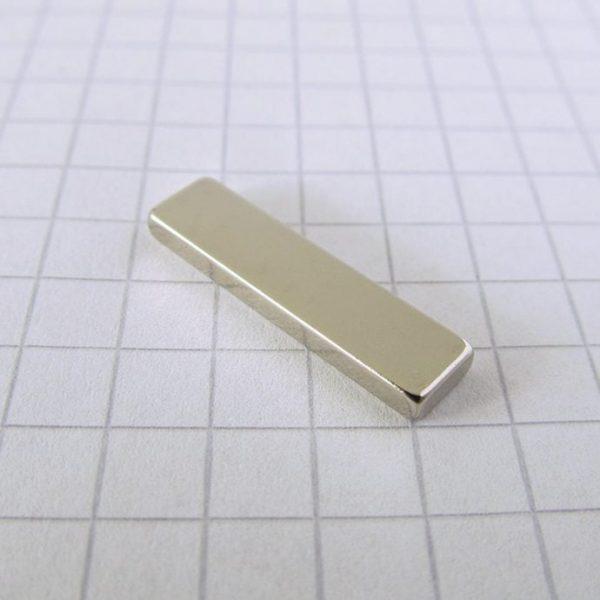 Neodymový magnet kvádr 20x5x2 mm - N38