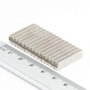 Neodymový magnet kvádr 25x5x3 mm - N38