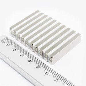Neodymový magnet kvádr 40x10x3 mm - N38