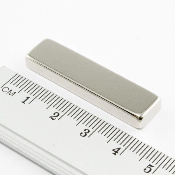 Neodymový magnet kvádr 40x10x5 mm - N38