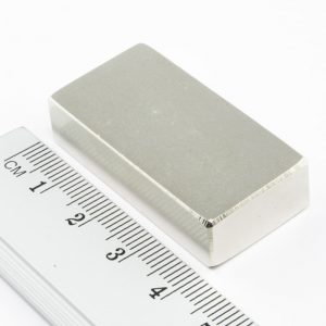 Neodymový magnet kvádr 40x20x10 mm - N40