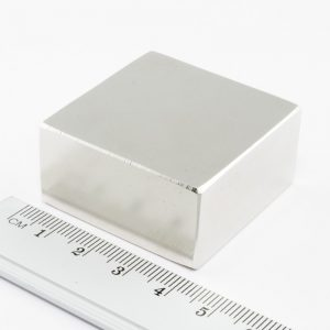 Neodymový magnet kvádr 40x40x20 mm - N38