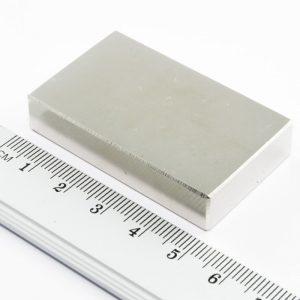 Neodymový magnet kvádr 50x30x13 mm - N35