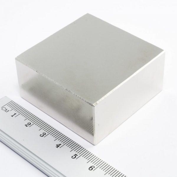 Neodymový magnet kvádr 50x50x25 mm - N38