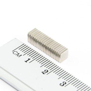 Neodymový magnet kvádr 5x5x1 mm - N38