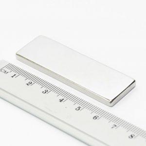 Neodymový magnet kvádr 60x20x4 mm - N38