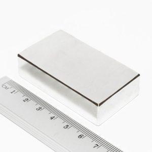 Neodymový magnet kvádr 60x30x15 mm - N38