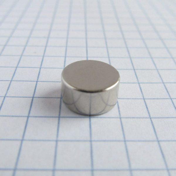 Neodymový magnet válec 10x5 mm - N45