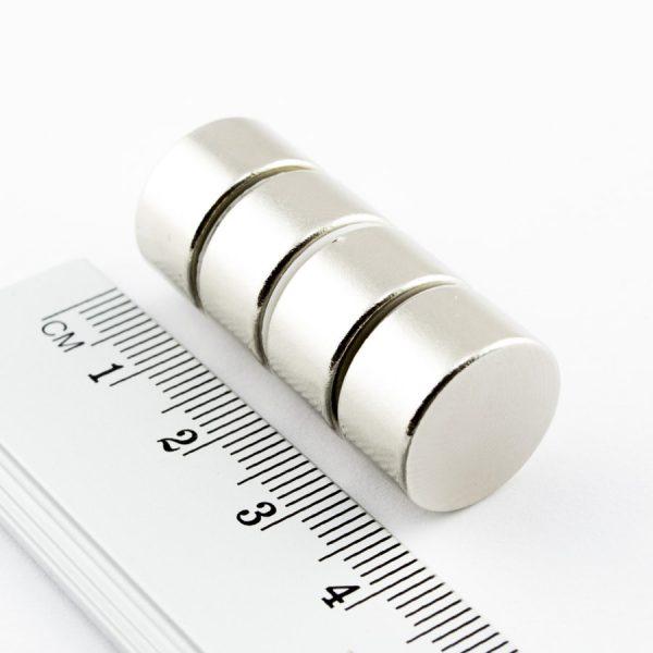 Neodymový magnet válec 15x8 mm - N38