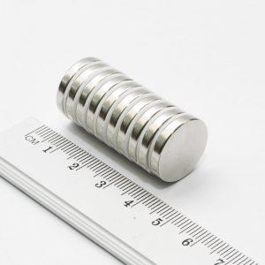 Neodymový magnet válec 18x3 mm - N38