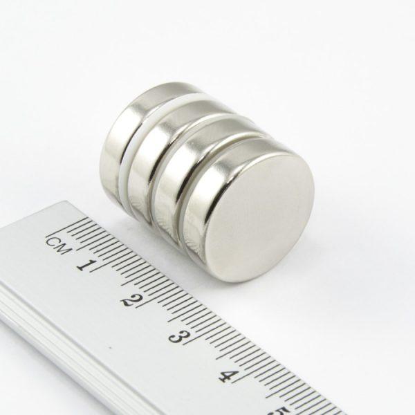 Neodymový magnet válec 20x5 mm - N38