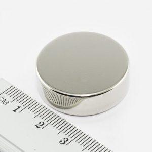 Neodymový magnet válec 30x10 mm - N38