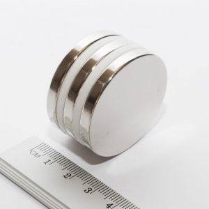 Neodymový magnet válec 40x5 mm - N38
