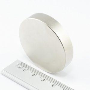 Neodymový magnet válec 50x10 mm - N38